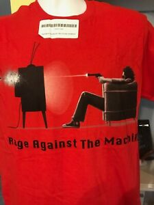 Rage against the machine FU I won't do what you tell me shoot TV T-shirt size M