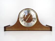 DUTCH Warmink Wuba Vintage Antique Mantel 8 day Clock (Hermle Junghans Era)