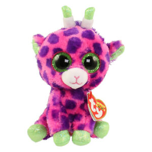 "Gilbert The Giraffe Plush Soft Toy, Ty Beanie Boo's Collection 6"" (15cm)"