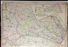 ORIGINAL 1907 G.W. BROMLEY WESTCHESTER COUNTY NEW YORK  NY PLAT ATLAS MAP