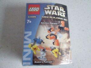 Brand New Mint In Box Lego 4485 Star Wars Mini Building Set Podracers