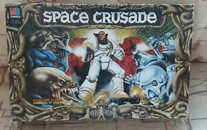 VINTAGE 1990 COMPLETE BOX SET ( Space Crusade The Ultimate Encounter Warhammer )