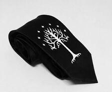 Tree Of Gondor Necktie, Black  Necktie