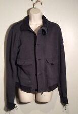 Armani Jeans Men Size Medium Grey Jacket 1981 Anniversario