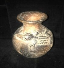 Rare Ancient old Antique Neolithic/PreColumbian Clay Pottery pot Jar Vase Mexico