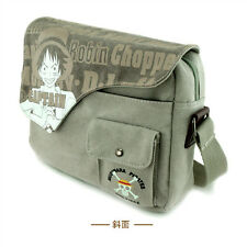 Fashion Anime One Piece Monkey D.Luffy Messenger Bag Luffy Canvas Shoulder Bag