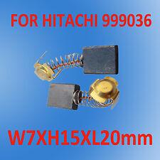 Carbon Brushes For Hitachi 7X15X20mm 999036 Sander