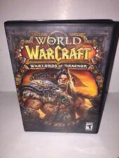 World War Craft War Lords Of Draenor DVD Rom