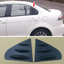 Glossy Black Window Deflector Side Cover Fins for MITSUBISHI Lancer Fortis Sales