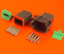 Deutsch DT Series 8 Pin Way Connector Male & Female DT04-8PA-CE02 DT06-8SA-CE10