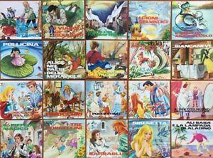 LOTTO 20 Libri Fiabe MALIPIERO Favole VINTAGE Antiche RARO