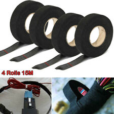 4 Rolls Adhesive Cloth Fabric Electrical Wiring Harness Loom Insulation Tape