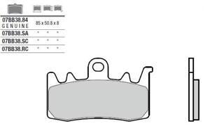 BENELLI BN302 - Kit Plaquettes de frein AVANT - BREMBO - 38800061