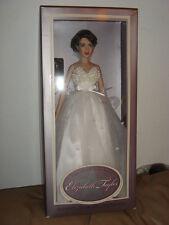 Franklin Mint Elizabeth Taylor Vinyl Portrait Doll New with COA.