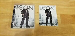 Def Jam: Icon PS3 Complete with Manual Good disk