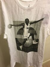 NIKE AIR JORDAN MJ MENS WHITE T-SHIRT 833740 100 XL X-LARGE NWT $35