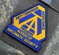 US DIPLOMATIC SECURITY DSS ANTITERRORISM ASSISTANCE PROGRAM ATA INSIGNIA
