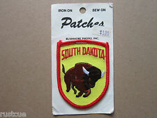 South Dakota Woven Cloth Patch Badge