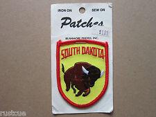South Dakota Woven Cloth Patch Badge