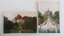 2x Kassel Cassel Hessen color Postkarten vermutlich Probedrucke um ~1930/40
