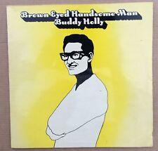Buddy Holly Brown Eyed Handsome Man UK LP
