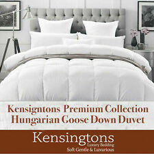 100%Hungarian Goose Down Duvets Hotel Quality All Season Togs Sizes Kensingtons®