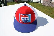Ball Cap Hat - Pepsi - Retro Style Logo  (H1732)