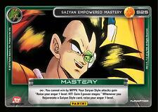 1 Saiyan Empowered Mastery S25 - Rainbow Prism Foil Dragon Ball Z 2014 Starter D