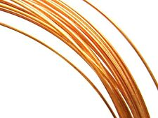 """Pure Copper Round Wire Solid Uncoated  Best Grade- """"A"""" Made in USA Soft 18 Gauge"""