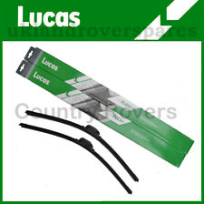VW TRANSPORTER T5 2003-2013 FRONT WIPER BLADES ONE PAIR LUCAS AERO AIRFLEX+