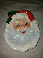 Vintage Handpainted Ceramic Santa Claus Ashtray made in Japan spoon rest 820