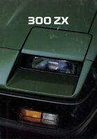 Nissan 300 ZX Prospekt 1984 6/84 Autoprospekt brochure prospectus brosjyre Auto