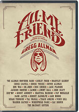 ALL MY FRIENDS: CELEBRATING THE SONGS & VOICE OF GREGG ALLMAN DVD - AUTHENTIC US
