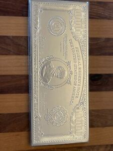 1 troy pound of .999 silver $10,000 bill with chase 1918 No Reserve Bk Value 619