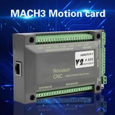 NVEM CNC Controlador 6 Eje MACH3 Ethernet Interfaz Tarjeta de Control Movimiento