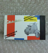 VESPA Mini Note Pad Notebook 150 Nouveaux MODELES NUOVO