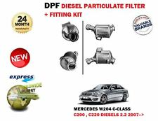 FOR MERCEDES C CLASS C200 C220 CDI W204 2007> DPF DIESEL PARTICULATE SOOT FILTER
