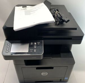 Dell B2375dfw Laser Printer W/  Printed Manual Tested & Working USB Comes W/Cord