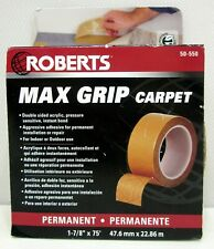 Roberts 1 7/8x75  50-550  Max Grip Carpet Installation Tape