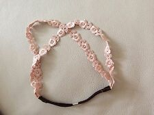 Lace Embroidery Forest Flowers Elastic Headband Girls Woman Ladies Hair band