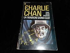 Bibliothèque Marabout 390 Earl Derr Biggers Charlie Chan 5 La maison sans clef
