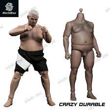 """1/6 Durable Male Plump Fat Figure Body Model for 12"""" TBLeague Phicen Head Sculpt"""