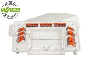 Wago Multi-Purpose L32 Junction Box Wiring Centre 221 Slim Connectors MBox White