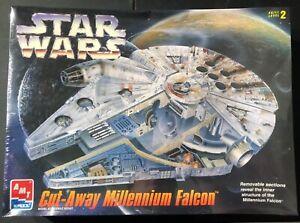 AMT Star Wars Cut-Away Millennium Falcon NEW FS Model Kit 'Sullys Hobbies'
