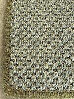 SISAL ECO FRIENDLY NATURAL WHIPPED MAT CARPET RUG/RUNNER 64cm x 385cm RRP £240