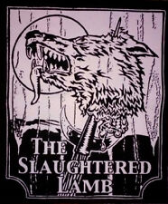 New listing Back Patch- The Slaughtered Lamb - Horror movie - An American Werewolf in London