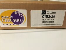 Quam Cis2/25 3-Gang Intercom Station, Vandal-Resistant, 25V