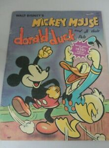 WALT DISNEY'S MICKEY MOUSE DONALD DUCK AND ALL THEIR PALS  47 PAGES REPRODUCTION