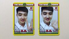 EXO The War The Power Of Music 4th Repackage Official photocard -  DO D.O set