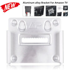 Amazon Fire TV Mounting Kit, Bracket Holder for Wall Mount or Stick to TV back U